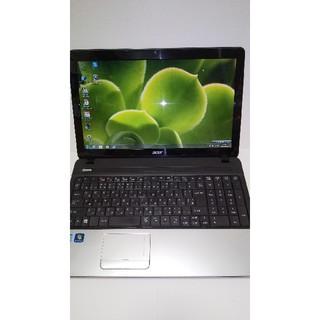 エイサー(Acer)の★AcerノートPC(CPU:Corei5、メモリ:8G、HDD:500G)(ノートPC)