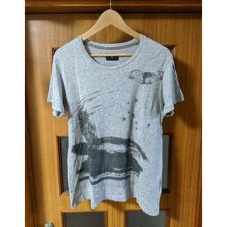アイラ(ila)のナノユニバース ila フクロウ Tシャツ S(Tシャツ/カットソー(半袖/袖なし))