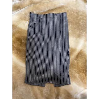ジェイダ(GYDA)のGYDA ボーダーニットスカート(ひざ丈スカート)