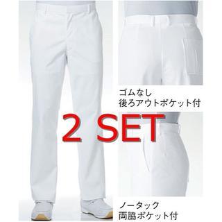カゼン(KAZEN)のスラックス KAZEN メンズ メディカル パンツ 白衣 カゼン(スラックス)