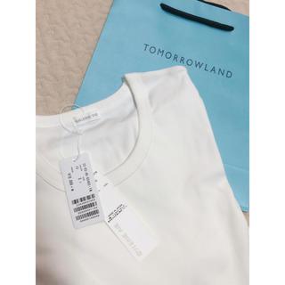 トゥモローランド(TOMORROWLAND)の限定値下げ 2019 GALERIE VIE ファインコットンクルーネック(カットソー(半袖/袖なし))
