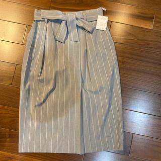 新品未使用 FIGNO スカート(ひざ丈スカート)