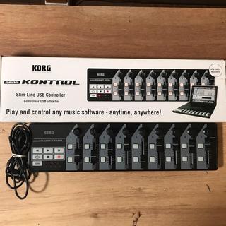 コルグ(KORG)のKORG nano KONTROL midiコントローラー(MIDIコントローラー)