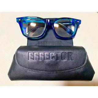 エフェクター(EFFECTOR)のeffector ダイエットブッチャースリムスキン コラボ サングラス 美品(サングラス/メガネ)
