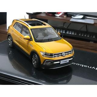 フォルクスワーゲン(Volkswagen)のTーRoc発売記念 T-cross 1/18スケール ★本文要確認(車体)