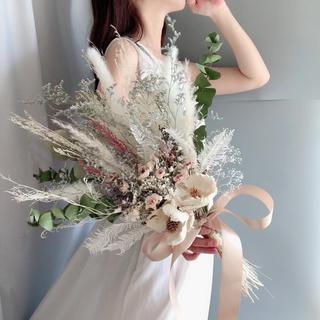 ココフラワーとアンティークローズのジャビーブーケ 〜antique Rose〜(ブーケ)