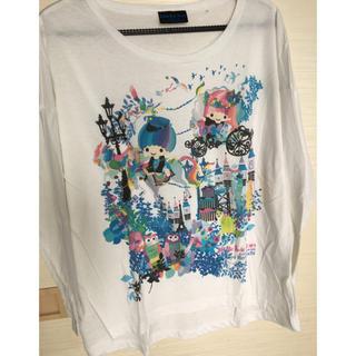 サンリオ(サンリオ)のTシャツ カットソー サンリオ ホラグチカヨ 美品(Tシャツ(長袖/七分))
