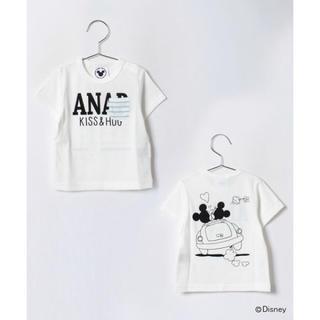 アナップキッズ(ANAP Kids)のANAP Kids ドライブミッキーミニー ポッケ付きTシャツ(Tシャツ)