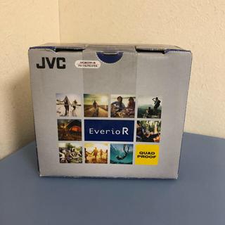 ケンウッド(KENWOOD)の新品未使用 JVC GZ-RX600-W Everio R 防水 ビデオカメラ(ビデオカメラ)