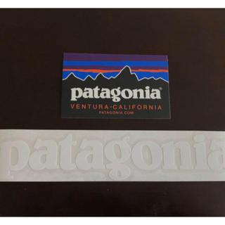 パタゴニア(patagonia)の【patagonia】ロゴステッカー 2種(ステッカー)