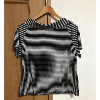 エフデ(ef-de)のボーダー Tシャツ トップス 【ef-de】13号(Tシャツ(半袖/袖なし))