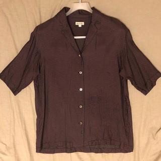 スティーブンアラン(steven alan)のsteven alan  オープンカラーシャツ(シャツ/ブラウス(半袖/袖なし))