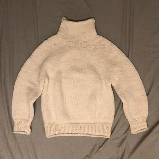 ビームスボーイ(BEAMS BOY)のBEAMS BOY 手編みニット(Wool100%)(ニット/セーター)