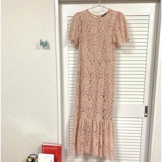 ザラ(ZARA)のZARA 試し着のみ ロングドレス Sサイズ パーティー 結婚式(ロングドレス)