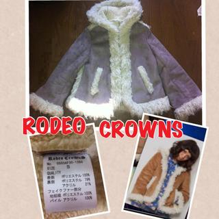 ロデオクラウンズ(RODEO CROWNS)の値下げ!ムートンジャケット♡送料込み♡(毛皮/ファーコート)