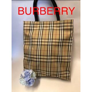 バーバリー(BURBERRY)のトートバッグチェック柄BURBERRYバーバリー(トートバッグ)