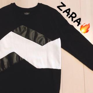 ザラ(ZARA)のZARA トップス スウェット(スウェット)