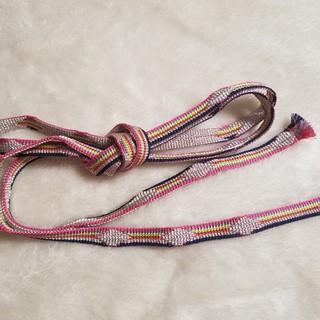 フリフ(ふりふ)のふりふ 浴衣帯締 「レインボー帯締め」(和装小物)