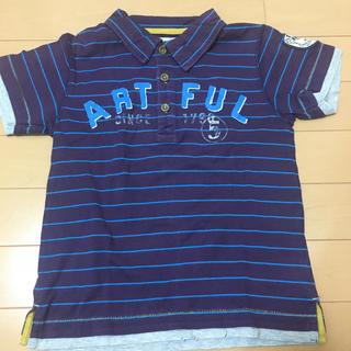 サンカンシオン(3can4on)の3can4on 男の子ポロシャツ 男の子Tシャツ 120 遊び着 学校用 (Tシャツ/カットソー)