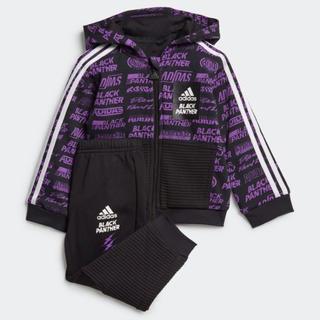 アディダス(adidas)のadidas MV ブラックパンサー 上下セット ジャージ MAVEL マーベル(ジャケット/コート)