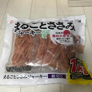 アイリスオーヤマ(アイリスオーヤマ)の高齢犬、小型犬も食べやすいまるごとささみジャーキー 細切り1㎏(ペットフード)