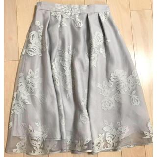 デビュードフィオレ(Debut de Fiore)のデビュードフィオレ 上品で可愛いスカート サイズM(ひざ丈スカート)