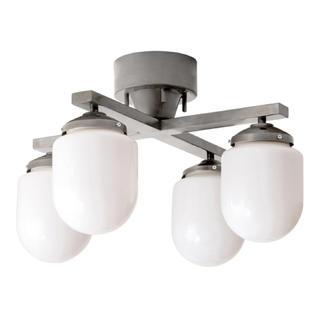 アクタス(ACTUS)のCOARSE MILK GLASS 4 BULB 電球付き コールスミルクガラス(天井照明)