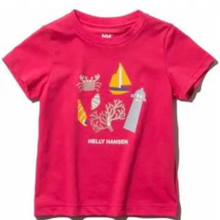 ヘリーハンセン(HELLY HANSEN)のHELLY HANSEN ショートスリーブ マリングラフィックティー 120(Tシャツ/カットソー)