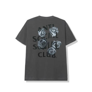 アンチ(ANTI)のanti social social club 薔薇 Tee Large(Tシャツ/カットソー(半袖/袖なし))