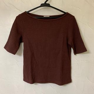ジーユー(GU)のワッフルTシャツ(Tシャツ(半袖/袖なし))