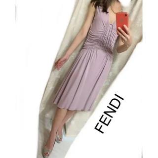 フェンディ(FENDI)のFENDI ワンピース(ロングワンピース/マキシワンピース)