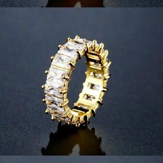 ★AAA最高級★ジルコニア リング クリスタル(リング(指輪))