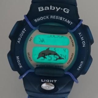 ベビージー(Baby-G)のBaby-G 350K イルカ ブルー(腕時計)