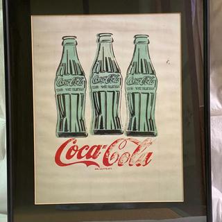 アンディウォーホル(Andy Warhol)のアンディウォーホル   大判 ポスター コカコーラ 壁掛け(絵画/タペストリー)