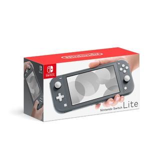 ニンテンドースイッチ(Nintendo Switch)のNintendo Switch Lite グレー HDH-S-BAZAA(携帯用ゲーム機本体)