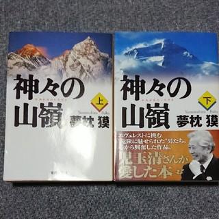 神々の山嶺 (上下)    夢枕貘(文学/小説)