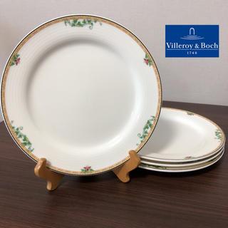 ビレロイアンドボッホ(ビレロイ&ボッホ)のビレロイ&ボッホ ルクセンブルク プレート 4枚(食器)