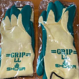 グリップ手袋 LLサイズ(手袋)
