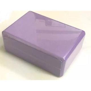 即買OK新品 未使用 ヨガ ブロック YOGA ダイエット パープル紫1個(ヨガ)