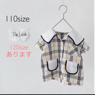 セーラーカラーシャツ 110.120(Tシャツ/カットソー)