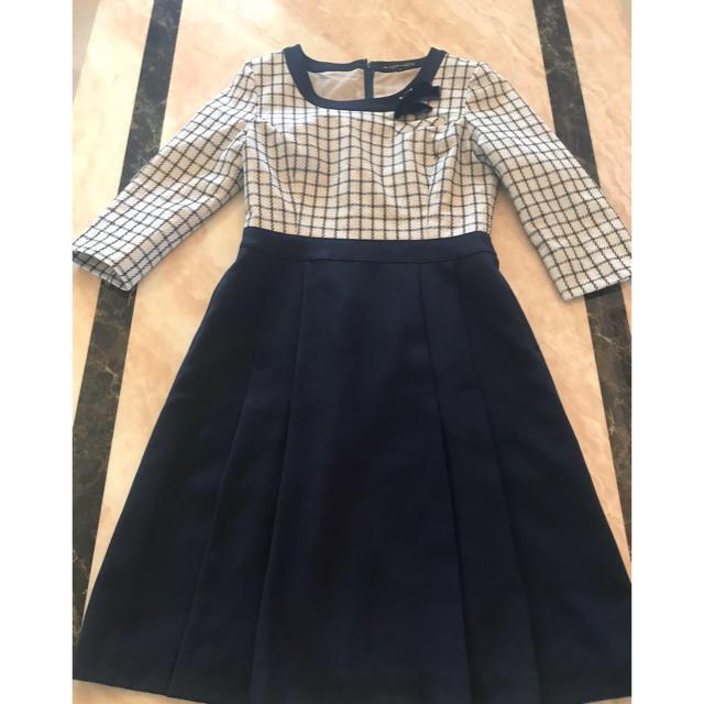 Joie (ファッション)(ジョア)の事務服アンジョア ワンピース レディースのワンピース(ひざ丈ワンピース)の商品写真
