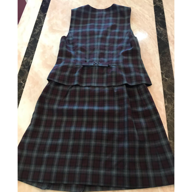 enjoi(エンジョイ)の事務服 ベスト&スカート レディースのレディース その他(セット/コーデ)の商品写真