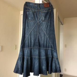 ラルフローレン(Ralph Lauren)のラルフローレン マーメイドデニムスカート(ロングスカート)
