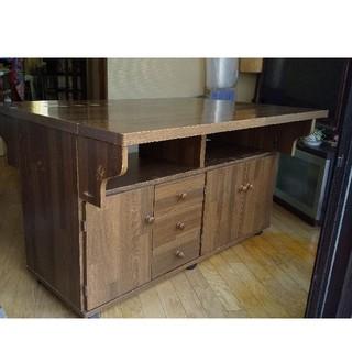 カウンターテーブル 木製(バーテーブル/カウンターテーブル)