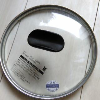 ヴェーエムエフ(WMF)の【新品未使用】WMF(ヴァーエムエフ)ガラス蓋 20cm W2000(鍋/フライパン)