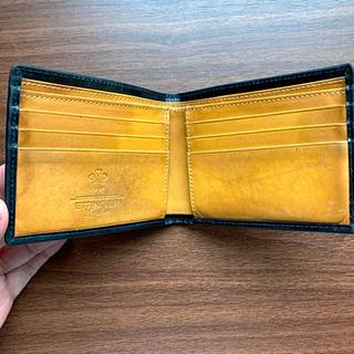 エッティンガー(ETTINGER)のETTINGER 二つ折 サイフ ブラック(折り財布)