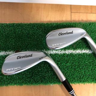 クリーブランドゴルフ(Cleveland Golf)のクリーブランド RTX4ウェッジ 50、56度 MID モーダス120S (クラブ)