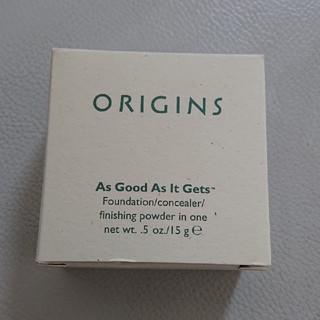 オリジンズ(ORIGINS)のオリジンズ コンシーラー パウダー ファンデーション(ファンデーション)