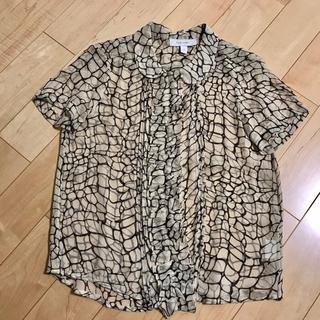 カレンウォーカー(KAREN WALKER)のカレン ウォーカー  シルク100%ブラウス(シャツ/ブラウス(半袖/袖なし))