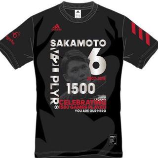 アディダス(adidas)のジャイアンツ 巨人 坂本勇人 選手 1500試合出場記念 限定 Tシャツ  M(スポーツ選手)